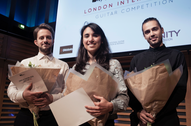 Finalists London International Guitar Competition 2015